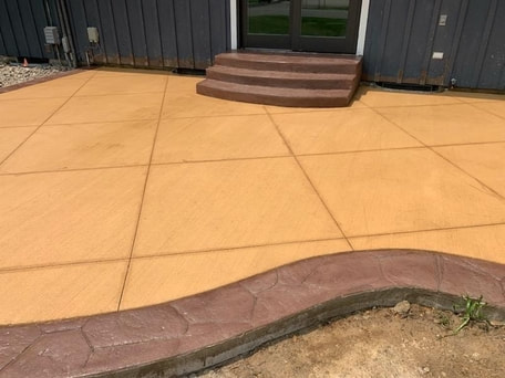 STAMPED CONCRETE PATIO SURPRISE AZ